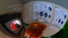 """Aqua Dome Bowl """"Disco"""" (Interactive) 360° VR POV Onride Water Slides, Vr, Aqua, Make It Yourself, Water"""