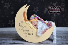 photography prop moon