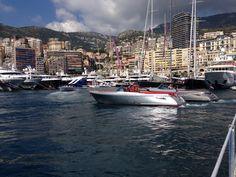 At Monaco yacht show