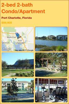 2-bed 2-bath Condo/Apartment in Port Charlotte, Florida ►$99,900 #PropertyForSale #RealEstate #Florida http://florida-magic.com/properties/7287-condo-apartment-for-sale-in-port-charlotte-florida-with-2-bedroom-2-bathroom