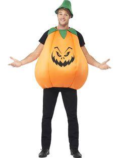 Men's Pumpkin Costume