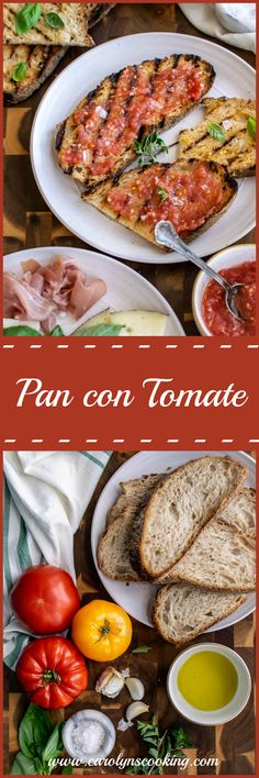 Pasta Dinner Recipes, Easy Pasta Recipes, Light Recipes, Delicious Recipes, Easy Meals, Tasty, Healthy Recipes, Pan Con Tomate Recipe, Tapas Dishes