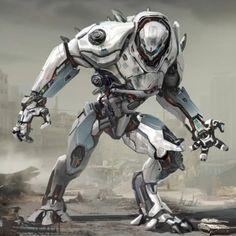 K-Jaeger concept art Arte Ninja, Arte Robot, Robot Concept Art, Armor Concept, Character Concept, Character Art, Comic Art, Space Opera, Battle Robots