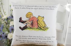 "Winnie the Pooh Colour Quote Pillow 16x16"" Classic Winnie the Pooh for Nursery or Gift by TheSewingCroft on Etsy https://www.etsy.com/uk/listing/531984581/winnie-the-pooh-colour-quote-pillow"