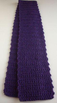 Lazy River knit scarf
