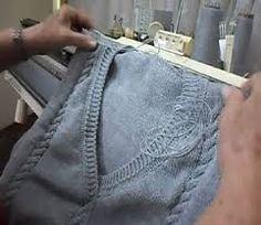 Resultado de imagem para trico a maquina para iniciantes