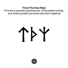 Meaningful Symbol Tattoos, Symbolic Tattoos, Norse Tattoo, Viking Tattoos, Viking Symbols And Meanings, Runes Meaning, Energy Symbols, Good Tattoo Quotes, Sigil Magic