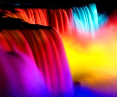 (¯`'•.¸de l'arc-en-ciel¸.•'´¯)  Rainbow color falls