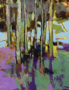 Casey Klahn's wonderful pastels!