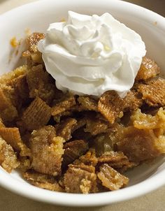 Cooking With Bai - Rumchata Bread Pudding