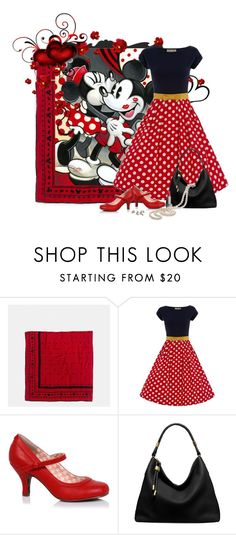 """""""Minnie Loves Mickey"""" by lmm2nd ❤ liked on Polyvore featuring Coach, Disney, Michael Kors and Burberry"""