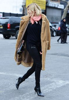 brown teddy coat (camille charriere)