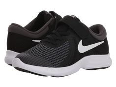 6f3039014f5bd SEE IT - Nike Kids Revolution 4 WIDE (Little Kid) (Black White Anthracite)  Boys Shoes From the playground to the practice field he ll always be ahead  of the ...