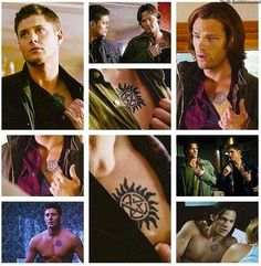 Supernatural: Sam & Dean's Anti-Possession Tattoos   --  could be a possible tat i love the show so much