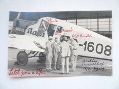 TOMÁŠ BAŤA - Letadlo JUNKERS BAŤA - Berlin 1929 !!