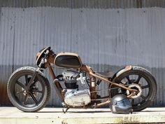 BSA Custom Chopper | Headcase Chop | Street Chopper