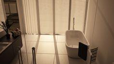 Sussex views. Openplan Bedroom Bathroom. Architectural Visualisation. - Moko 3D - UK