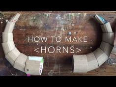 Cardboard Horns - YouTube