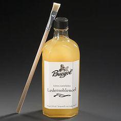 Burgol Ledersohlenöl 250 ml hier online erhältlich oder bei www.schuhpflege-online.de