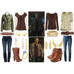 """SPN Gabriel"" by lexaphoenix on Polyvore - Supernatural"