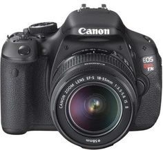 Canon Rebel T3i DSLR camera. This is like, the best camera ever. I love it. I'm always just looking for things of which to take pictures.