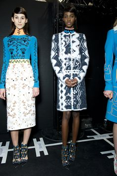 Peter Pilotto Fall 2015 RTW Backstage – Vogue
