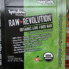 Spirulina live food Bar!