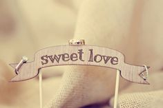 """Sweet Love"" wedding ring shot | Frozen Exposure Photography"