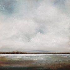 "Soft Breeze by Karen  Hale (Acrylic Painting) (30"" x 30"")"