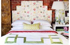 How to Style a Bad // LOOK ONE: traditional headboard