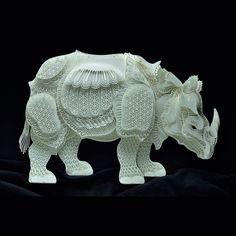 Gorgeous Paper Sculptures of Endangered Species