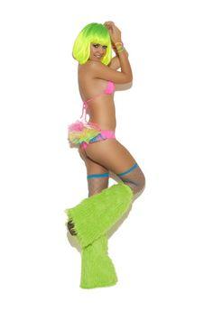 dd399f41cf Neon Nites Bra Top with Tutu Panty