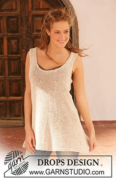 Ravelry: 112-10 knitted tunic pattern by DROPS design