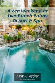Zen weekend at Two Bunch Palms Resort & Spa Best Family Vacations, Family Vacation Destinations, Vacation Resorts, Vacation Trips, Vacation Ideas, Family Travel, Travel Destinations, Palm Resort, Resort Spa