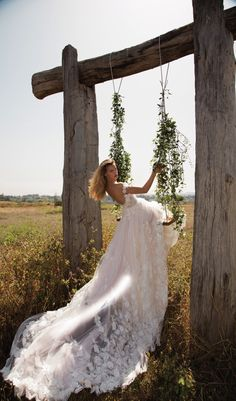 Aline Wedding Dresses gala galia lahav spring 2017 off shoulder deep vneck aline wedding dress bv romantic long train - Boho Brides, hold on to your floral crowns, cos today's post is gonna completely sweep you off your feet! GALA No. Spring 2017 Wedding Dresses, Wedding Dresses Photos, Bridal Dresses, Wedding Gowns, Bridesmaid Dresses, Tulle Wedding, Collection 2017, Bridal Collection, Dress Collection