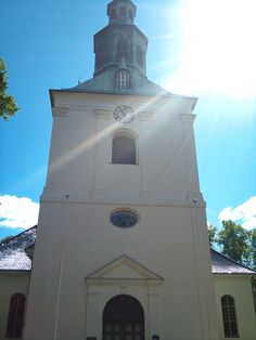 Østre Fredrikstad kirke is the name of the church in the old town and fortress of Fredrikstad, Norway. Photo: Ann Christin Skogstad, june 2014