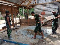 Komando Distrik Militer (Kodim) 0104/Aceh Timur terus memacu pelaksanaan program TNI Manunggal Masuk Desa (TMMD) ke 101 yang dipusatkan di Desa Pante Rambong Kecamatan Pante Bidari.