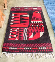 Graphic, Handmade Rugs That Support Fair Trade