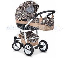 Коляска Riko Nano Flower collection 3 в 1  Коляска Riko Nano 3 в 1. Элегантная коляска с неповторимым дизайном для детей от рождения до 3-х лет. Многофункциональная транспортная система, обеспечивающая комфорт и безопасность на прогулках с Вашим ребенком.  Детская универсальная коляска изготовлена с использованием высококачественных легких дышащих текстильных материалов, имеет небольшой вес и отличную маневренность на дороге.  Люлька Riko: Просторная пластиковая люлька Обивка и матрасик…