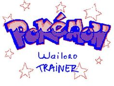 Pokémon Wailord trainer- Animation