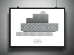 Gallery - Archiposters Feature Minimalist Representations of Contemporary Architecture - 6