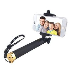Selfie Stick,[2016 New Release] Yarrashop Bluetooth Wireless Self Stick with Remote Shutter and Adjustable Phone Holder Compatible for iPhone SE 6S 6S plus 6 6 Plus, Samsung Galaxy S7 S6 and other IOS and Android Smartphones (Golden) - http://www.computerlaptoprepairsyork.co.uk/new-product-releases/selfie-stick2016-new-release-yarrashop-bluetooth-wireless-self-stick-with-remote-shutter-and-adjustable-phone-holder-compatible-for-iphone-se-6s-6s-plus-6-6-plus-samsung-galaxy-s7-