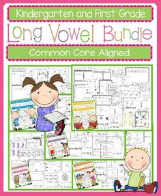 This is a bundle of my five long vowel packets.  These worksheets, games, books, and activities will teach the long vowel sounds. Most pages require no prep. All are engaging for students and make learning to read and spell long i words fun. Pages Included for Each Long Vowel:*Long Vowel Rules  - Teaches the long vowel sound to be covered in each packet (5 Pages) *Nate's Big Day, Jean's Messy Room, The Bike Ride, Toad on the Road, and June's Tune - 5 long vowel books to illustrate, cut, and…