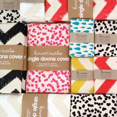 Totem Collection Pillowcases - Cheeta Spots in Charcoal - $50