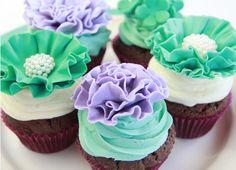 Tutorial cupcakes pompom (in Spanish)