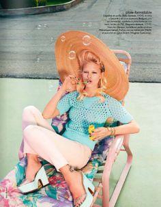 Simon Burstall for Elle France March 2012