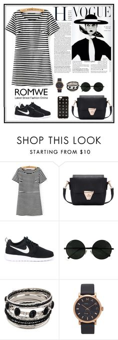 """""""Romwe 6"""" by amra-f ❤ liked on Polyvore featuring NIKE, Marc Jacobs and J.Crew"""