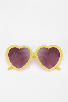 """UO Sweetheart Sunglasses -- """"These sunglasses are more of a cultural icon than simple UV protection."""""""