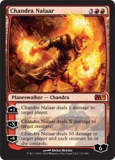 Magic: the Gathering - Chandra Nalaar - Magic 2011 $3.39