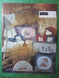 1 - 1985 STONEY CREEK COLLECTION FOREVER AFTER CROSS STITCH CHART BOOK #31